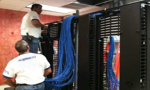 Instalação de Cabeamento e Passagem de Cabos de Rede Para Computadores em São Bernardo do Campo